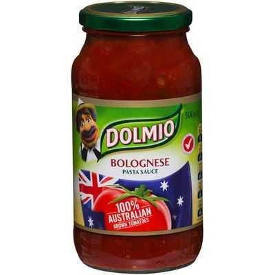 Dolmio Australian Grown Tomato Pasta Sauce Bolognese