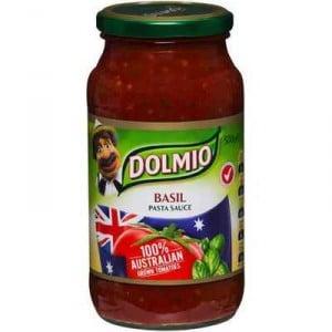 Dolmio Australian Grown Tomato Pasta Sauce Tomato Basil