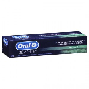 Oral-b 3d White Brilliant Toothpaste Mint