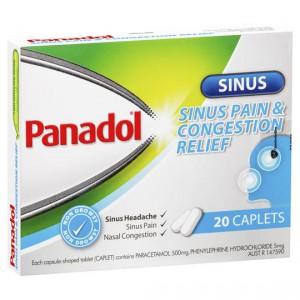 Panadol Hay Fever Sinus & Congestion Relief