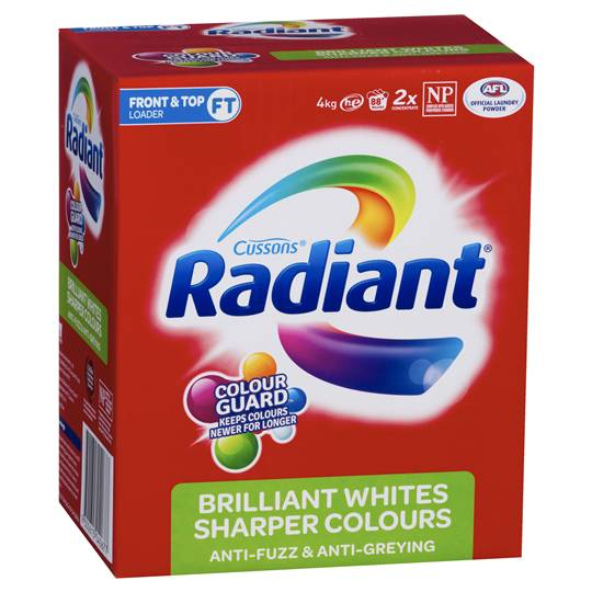 Radiant Front Loader Sharper Colour Laundry Powder