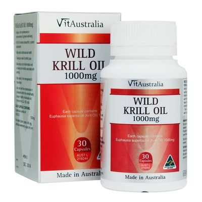 Vitaustralia Wild Krill Oil 1000mg