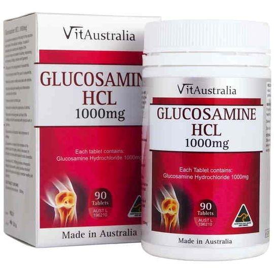 Vitaustralia Glucosamine Hcl 1000mg