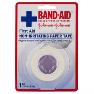 Band-aid Fabric Strips First Aid Paper Tape