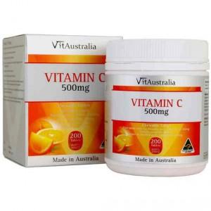 Vitaustralia Vitamin C 500mg Chewable