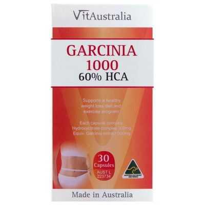 Vitaustralia Garcinia 1000 60% Hca