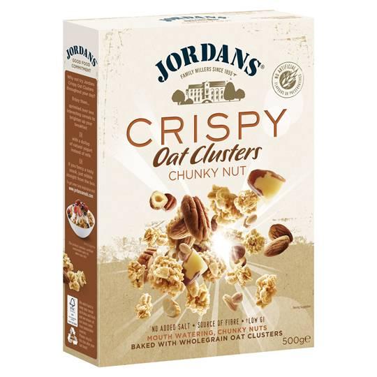 Jordans Chunky Nut Crispy Oat Clusters
