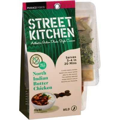 Street Kitchen Cooking North Indian Butter Chicken