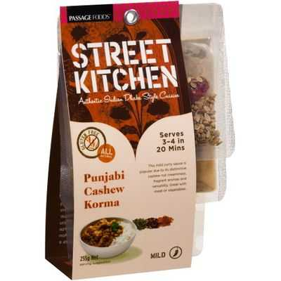 Street Kitchen Cooking Punjabi Cashew Korma