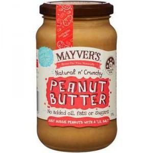 Mayver's Crunchy Peanut Butter
