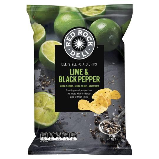 Red Rock Deli Share Pack Lime & Black Pepper