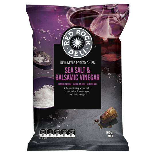 Red Rock Deli Share Pack Sea Salt & Balsamic Vinegar