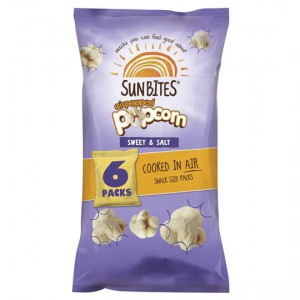 Sunbites Multipack Popcorn Sweet & Salt