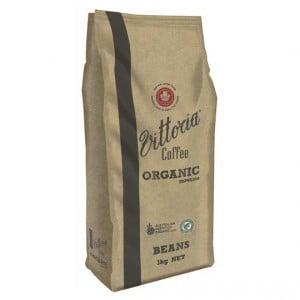 Vittoria Organic Coffee Beans