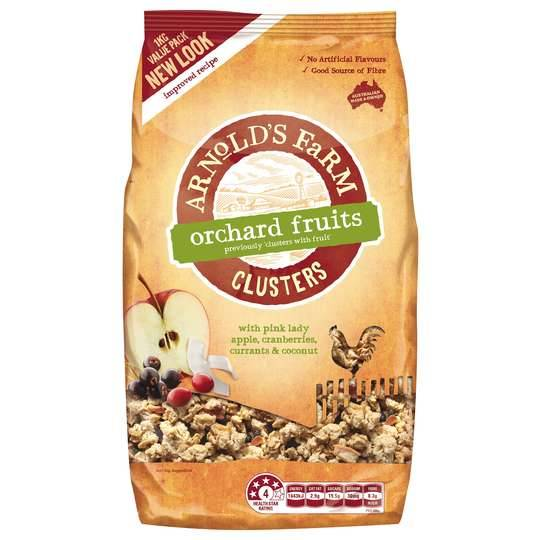 lilandalexandersmum reviewed Arnolds Farm Muesli Toasted Clusters With Fruit