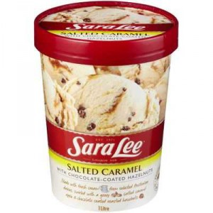 Sara Lee Ice Cream Salted Caramel