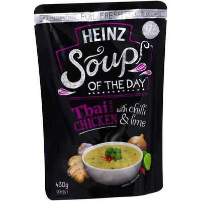 Heinz Soup Of The Day Soup Pouch Chicken With Chilli & Lime