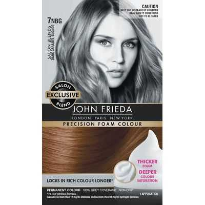 John Frieda Precision Foam Salon Blends 7nbg Dark Caramel Blonde
