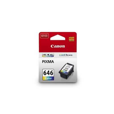 Canon Printer Ink Cl646 Tri Colour Ink Tank