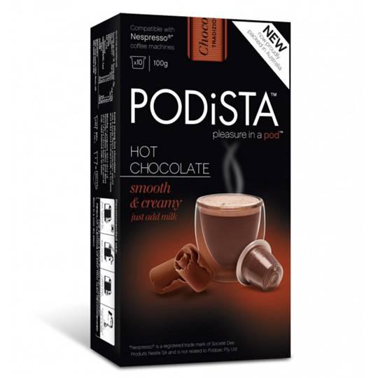 Podista Hot Chocolate Pods