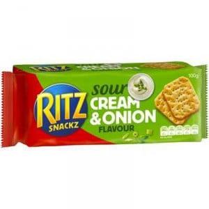 Ritz Snackz Cracker Sour Cream & Onion