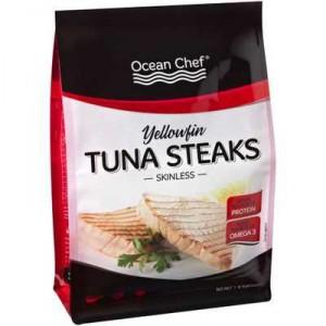 Ocean Chef Tuna Yellowfin Tuna Steaks