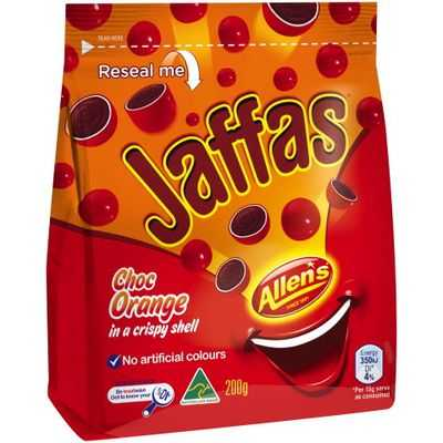 MrsA reviewed Allen's Jaffas