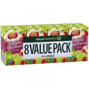Golden Circle Apple & Raspberry Juice