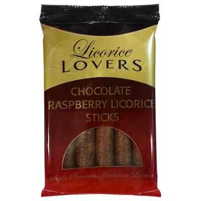 Licorice Lovers Raspberry Licorice Chocolate Coated
