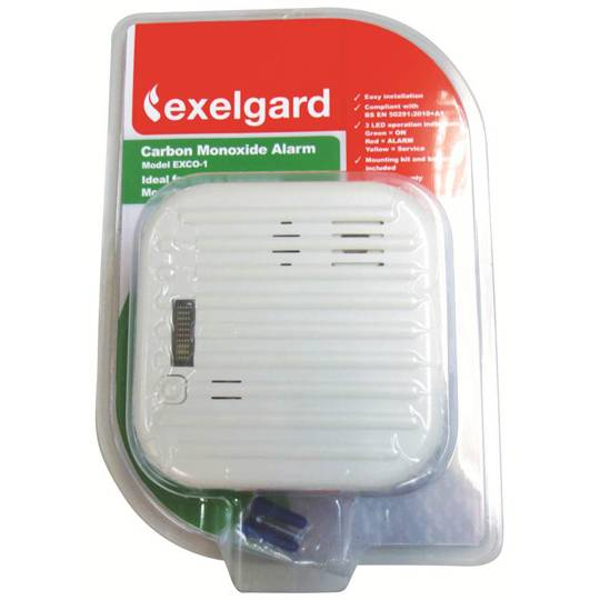 Exelgard Fire Safety Carbon Monoxide Alarm