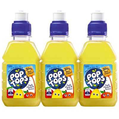 Pop Tops Apple Mango & Bannana Juice