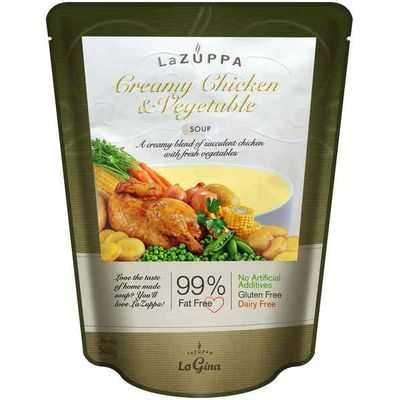 La Zuppa Soup Pouch Creamy Chicken & Vegetable