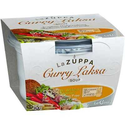 La Zuppa Microwave Soup Chicken Laksa With Noodles