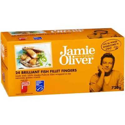 Findus Jamie Oliver Fish Fingers