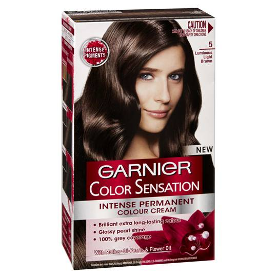 Garnier Colour Sensational 5 Luminous Light Brown