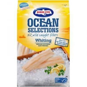 Birds Eye Ocean Selections Whiting Fillets Nz Wild Caught