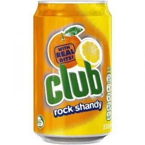 Club Rock Shandy Drink