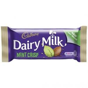 Cadbury Mint Crisp Snack