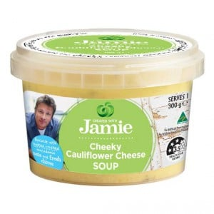 Created With Jamie Soup Cauliflower & Cheese