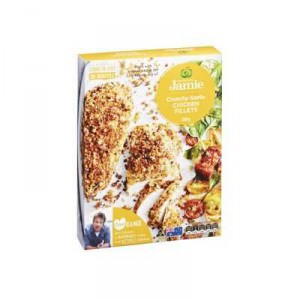 Created With Jamie Crumbed Chicken Crunchy Garlic Fillets