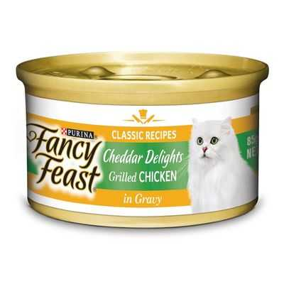 Fancy Feast Adult Cat Food Cheddar Chicken