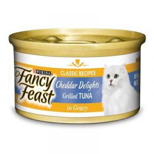 Fancy Feast Adult Cat Food Cheddar Tuna