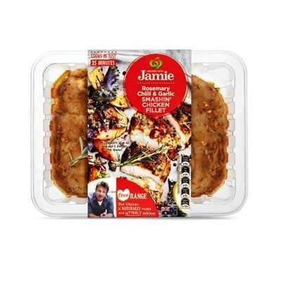 Created With Jamie Chicken Fillets Smashin Chilli Garlic Rosemary