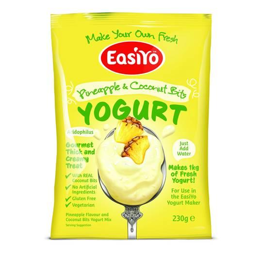 bealiba reviewed Easiyo Pineapple & Coconut Bits Yoghurt Base