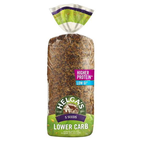 Helga's Lower Carb Bread 5 Seeds