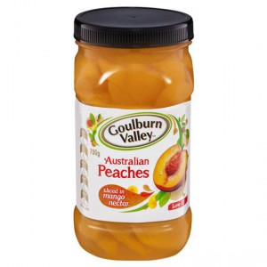 Goulburn Valley Peach Sliced In Mango Nectar