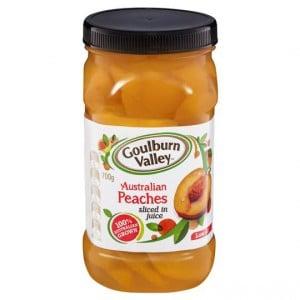 Goulburn Valley Peach Sliced In Juice