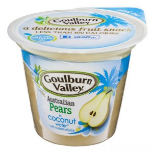 Goulburn Valley Pear In Coconut Water
