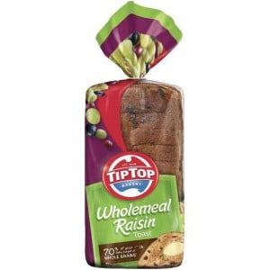 Tip Top Breakfast Toast Wholemeal