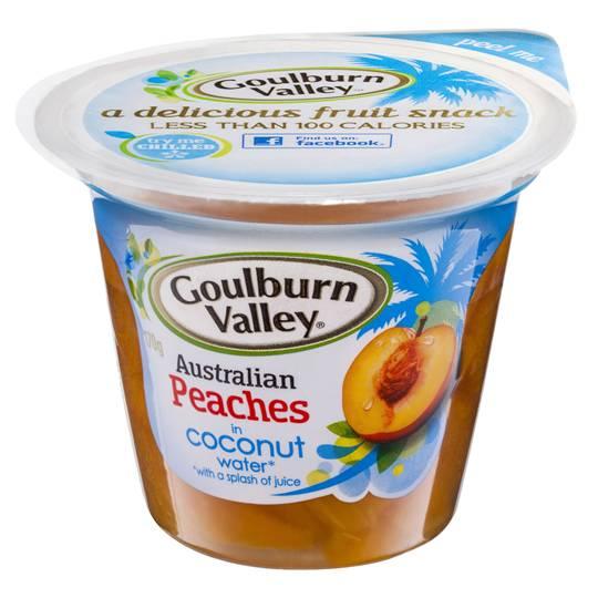 Goulburn Valley Peach In Coconut Water